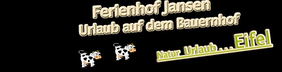 Ferienhof Jansen – Eifel Logo