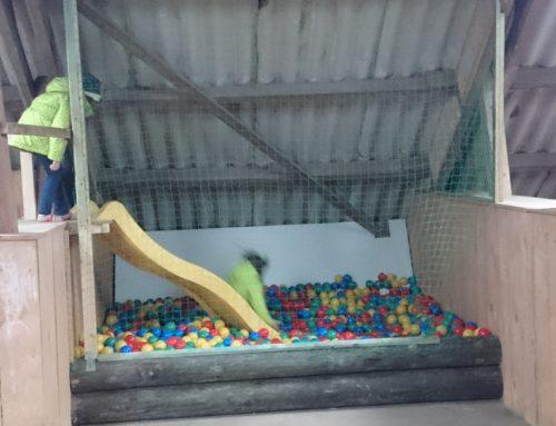 Spielscheune – Unser kleiner Indoor-Spielplatz
